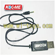Koome K008 rc Helicopter parts -35 USB Charger wire