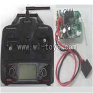 Feilun FX071 FX071C RC Helicopter parts, FX071-parts-21 Transmitter & Circuit board