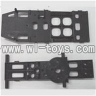 Feilun FX071 FX071C RC Helicopter parts, FX071-parts-30 Main body frame & Lower main frame