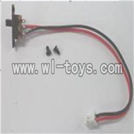 Feilun FX071 FX071C RC Helicopter parts, FX071-parts-33 Switch with wire