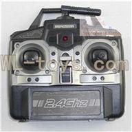 BoRong BR-6802 Quadcopter parts BR6802-parts-08 Transmitter