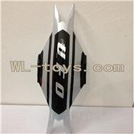 XinXun X30V Quadcopter parts, Xinxun-X30-parts-01 Head cover (Black)