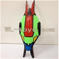 XinXun X30V Quadcopter parts, Xinxun-X30-parts-02 Head cover (Green)