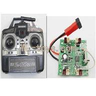 XinXun X30 X30V Quadcopter parts, Xinxun-X30-parts-06 Transmitter & Circuit board