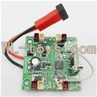 XinXun X30 X30V Quadcopter parts, Xinxun-X30-parts-07 Circuit board