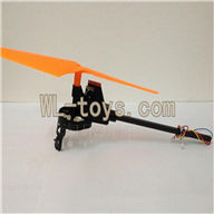 XinXun X30 X30V Quadcopter parts -20 Whole leg unit 2 (Orange)