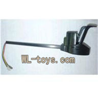 UDI U829 U829X Quadcopter parts, U829X-parts-22 Rotating Motor Assembly-With White light