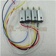 Attop toys YD 712 Quadcopter parts ,YD712 parts-11 Main motor (1set= 4pcs)
