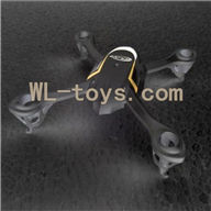 Attop toys YD 928 Quadcopter parts, YD928 Parts-06 Upper Cover(Black)