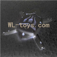 Attop toys YD 928 Quadcopter parts, YD928 Parts-07 Bottom cover frame(Black)