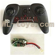 Attop toys YD 928 Quadcopter parts, YD928 Parts-11 Transmitter & Circuit board