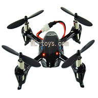 Attop toys YD 928 Quadcopter-19 BNF-Black(only have UFO body ,No battery ,No charger ,No transmitter )