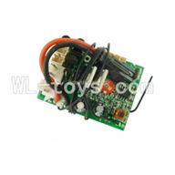 UDI U7 RC helicopter parts-20 Receiver Board 27mHz