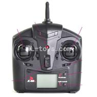 Version 1 Transmitter,Can only be used for version 1 circuit board,UDI U12 U12A RC helicopter parts-38 Transmitter