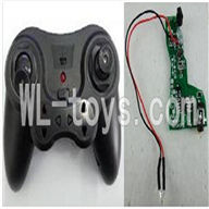 UDI U821 RC helicopter parts-11 Transmitter & Circuit board