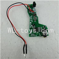 UDI U821 RC helicopter parts-12 Circuit board
