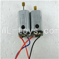 UDI U821 RC helicopter parts-21 Main motor with long shaft and gear & Main motor with short shaft and gear