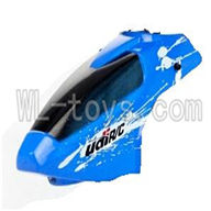 UDI U822 rc helicopter parts-02 Head cover (Blue)