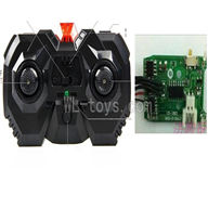 UDI U822 rc helicopter parts-06 Transmitter & Circuit board