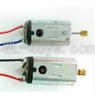 UDI U822 rc helicopter parts-26 Main motor with long shaft and gear & Main motor with short shaft and gear