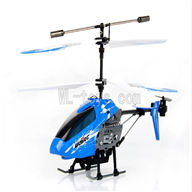 UDI U822 rc helicopter parts-32 BNF-Blue(Only helicopter body ,no Transmitter ,No battery,No USB charger)