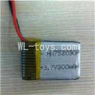 UDI U823 RC helicopter parts-37 Battery