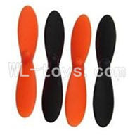 UDI U830 RC Quadcopter parts-04 Main rotor blades(4pcs)