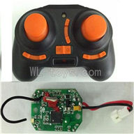 UDI U839 Quadcopter parts U839-06 Transmitter & Circuir board