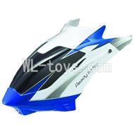 UDI U17 rc helicopter parts-02 Head cover(Blue)
