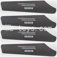 UDI U17 rc helicopter parts-05 Lower main blades(4pcs)