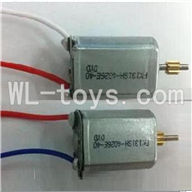 UDI U17 rc helicopter parts-16 Main motor with long shaft and gear & Main motor with short shaft and gear
