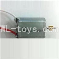 UDI U17 rc helicopter parts-17 Main motor with long shaft and gear