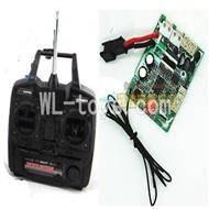 UDI U23 rc helicopter parts-11 Transmitter with antena & Circuit board