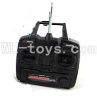 UDI U23 rc helicopter parts-12 Transmitter with antena