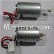 UDI U23 rc helicopter parts-21 Main motor with long shaft and gear & Main motor with short shaft and gear