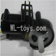 UDI U23 rc helicopter parts-24 Tail cover with tail gear and tail motor