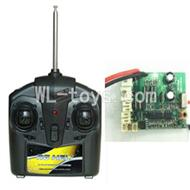 UDI U25 rc helicopter parts-06 Transmitter & Circuit board