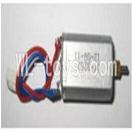 UDI U25 rc helicopter parts-23 Main motor with short shaft and gear