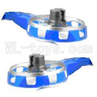 UDI U25 rc helicopter parts-32 Left and right side frame(Not include the side motor)-Blue