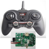 UDI U820 rc helicopter parts-11 Transmitter & Circuit board
