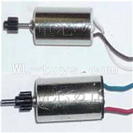 UDI U820 rc helicopter parts-16 Main motor with long shaft and gear & Main motor with short shaft and gear