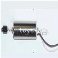 UDI U820 rc helicopter parts-17 Main motor with long shaft and gear