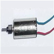 UDI U820 rc helicopter parts-18 Main motor with short shaft and gear