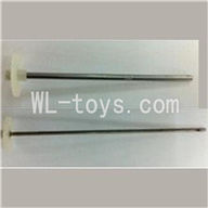 UDI U825 rc helicopter parts-06 Upper main gear with hollow pipe & Lower main gear with inner shaft