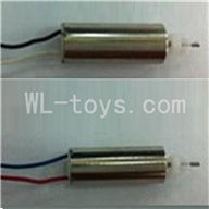 UDI U825 rc helicopter parts-11 Main motor with black and white wire & Main motor with Red and blue wire