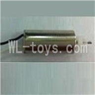 UDI U825 rc helicopter parts-12 Main motor with black and white wire