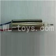 UDI U825 rc helicopter parts-13 Main motor with Red and blue wire