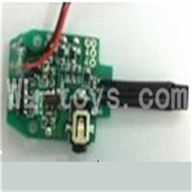 UDI U825 rc helicopter parts-18 Circuit board