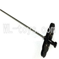 Koome model K012 RC helicopter parts ,Koome K-012 parts-09 Inner shaft with head & Upper main grip set