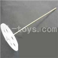 Koome model K026 RC helicopter parts, K-026 parts-08 Lower main gear with inner shaft